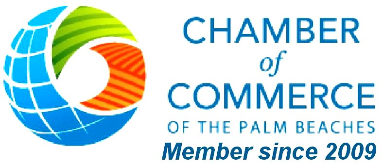 Palm Beach County Chamber of Commerce Member since 2009